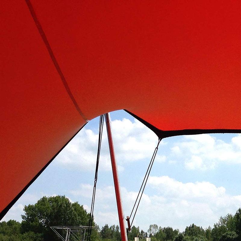 Iets te vieren stretchtent huren jouw feest meintent - Tent voor terras ...